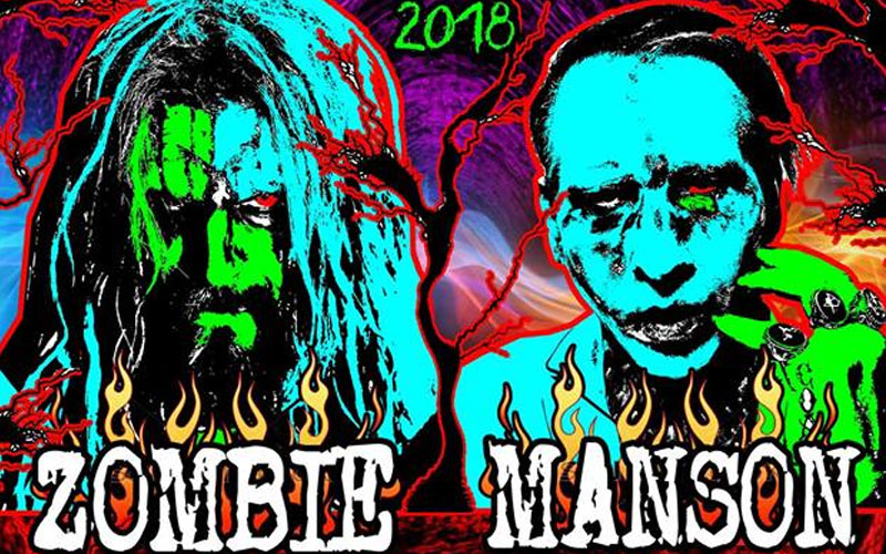 Rob Zombie And Marilyn Manson Pre Sale Announced For Co