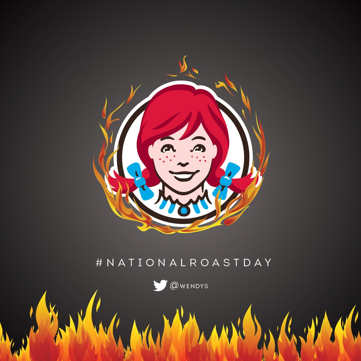 Wendy's Savages Metal Bands For National Roast Day